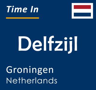 Current time in Delfzijl, Groningen, Netherlands