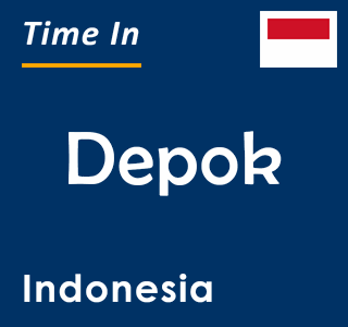 Current time in Depok, Indonesia