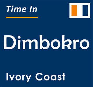 Current time in Dimbokro, Ivory Coast