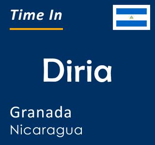 Current time in Diria, Granada, Nicaragua