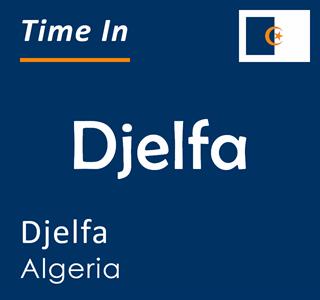 Current time in Djelfa, Djelfa, Algeria