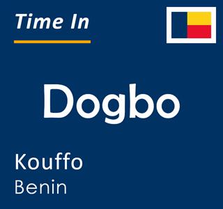 Current time in Dogbo, Kouffo, Benin