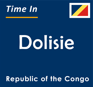 Current time in Dolisie, Republic of the Congo