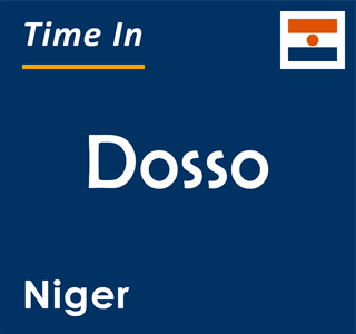 Current time in Dosso, Niger