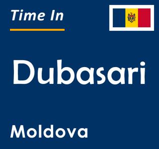 Current time in Dubasari, Moldova
