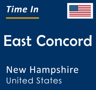 Current time in East Concord, New Hampshire, United States