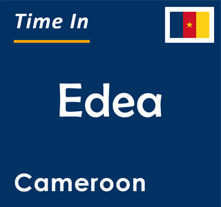 Current time in Edea, Cameroon