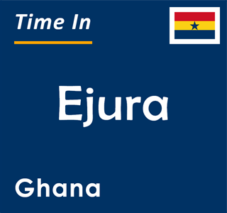Current time in Ejura, Ghana