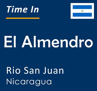 Current time in El Almendro, Rio San Juan, Nicaragua