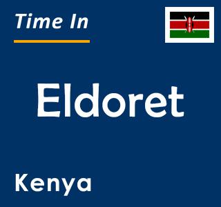 Current time in Eldoret, Kenya