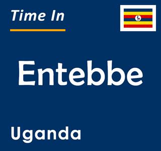 Current time in Entebbe, Uganda