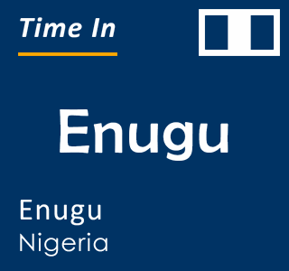 Current time in Enugu, Enugu, Nigeria