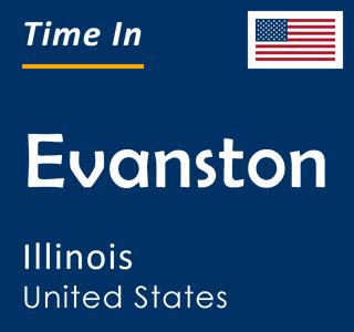 Current time in Evanston, Illinois, United States
