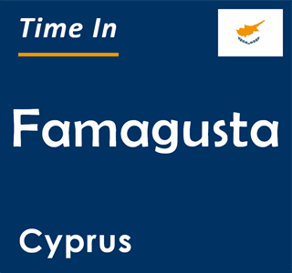 Current time in Famagusta, Cyprus