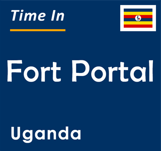 Current time in Fort Portal, Uganda
