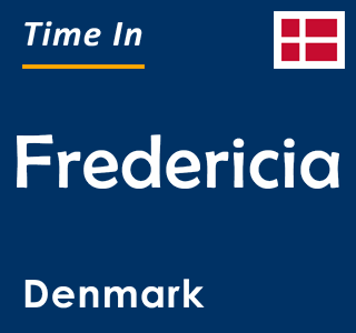 Current time in Fredericia, Denmark