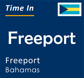 Current time in Freeport, Freeport, Bahamas