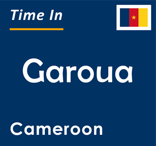 Current time in Garoua, Cameroon