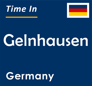 Current time in Gelnhausen, Germany