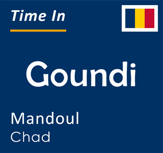 Current time in Goundi, Mandoul, Chad
