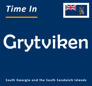 Current time in Grytviken, South Georgia and the South Sandwich Islands