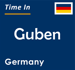 Current time in Guben, Germany