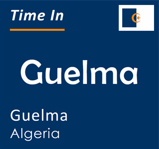 Current time in Guelma, Guelma, Algeria