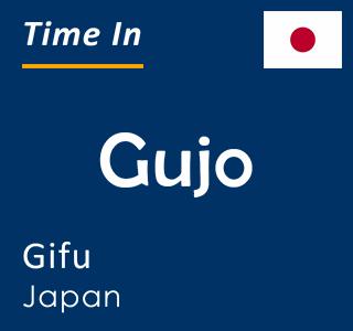 Current time in Gujo, Gifu, Japan