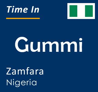 Current time in Gummi, Zamfara, Nigeria