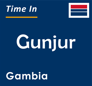 Current time in Gunjur, Gambia