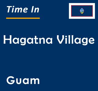 Current time in Hagatna Village, Guam