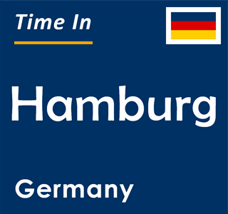Current time in Hamburg, Germany