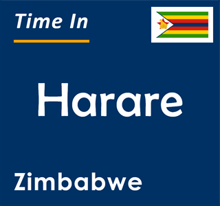 Current time in Harare, Zimbabwe