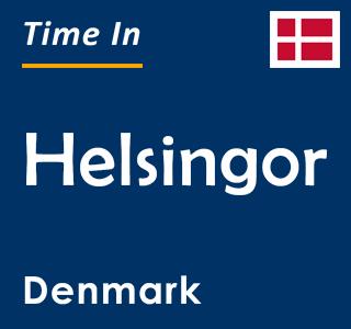 Current time in Helsingor, Denmark
