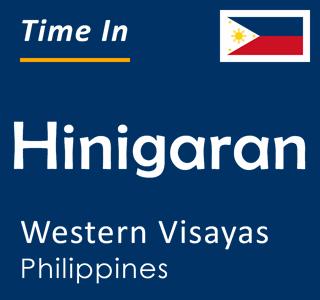 Current time in Hinigaran, Western Visayas, Philippines