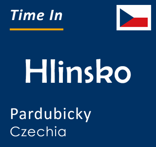 Current time in Hlinsko, Pardubicky, Czechia