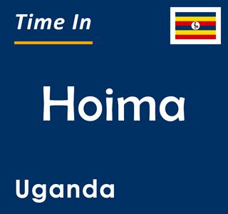 Current time in Hoima, Uganda