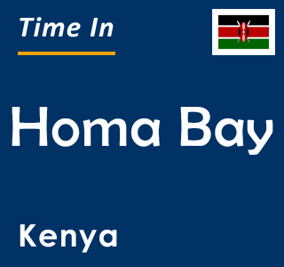 Current time in Homa Bay, Kenya