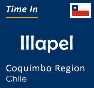 Current time in Illapel, Coquimbo Region, Chile