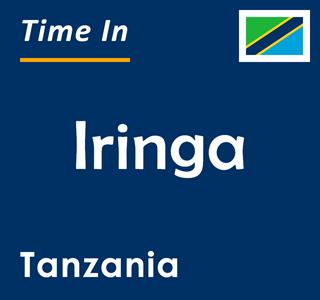 Current time in Iringa, Tanzania