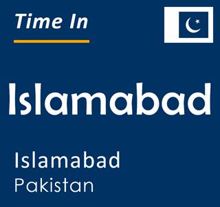 Current time in Islamabad, Islamabad, Pakistan
