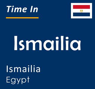 Current time in Ismailia, Ismailia, Egypt