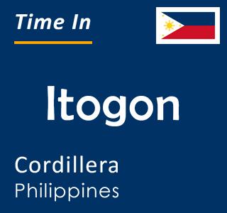 Current time in Itogon, Cordillera, Philippines