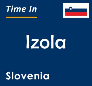 Current time in Izola, Slovenia