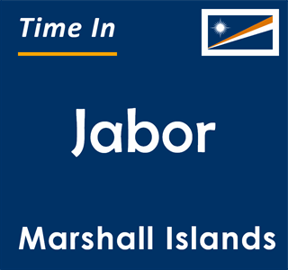 Current time in Jabor, Marshall Islands