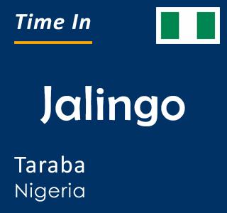 Current time in Jalingo, Taraba, Nigeria