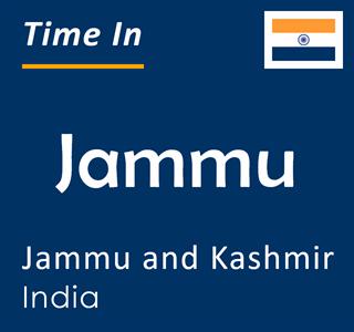Current time in Jammu, Jammu and Kashmir, India