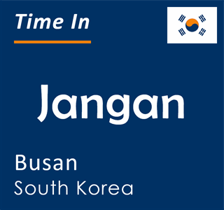 Current time in Jangan, Busan, South Korea