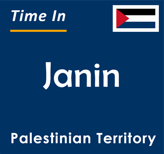 Current time in Janin, Palestinian Territory