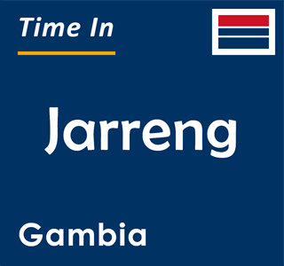 Current time in Jarreng, Gambia